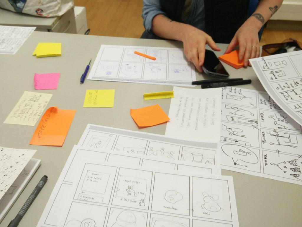 Atelier d'idéation - crazy 8
