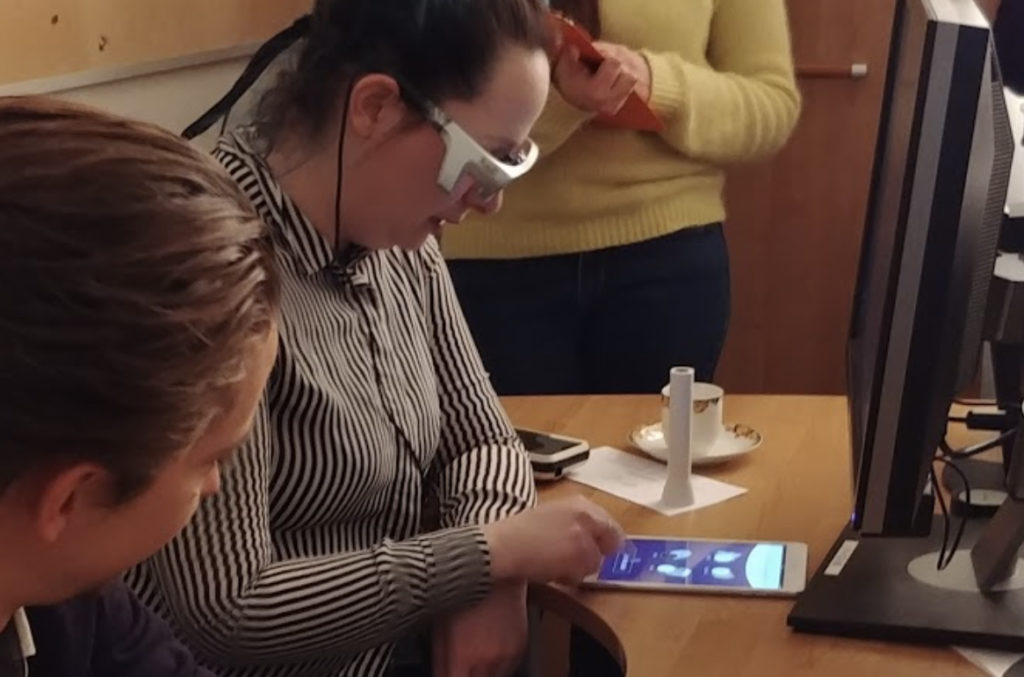 Test utiilsateur au labo des Gobelins
