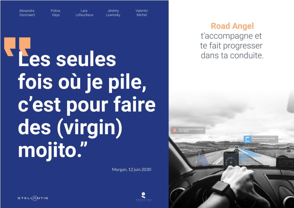 Affiche Road Angel #1